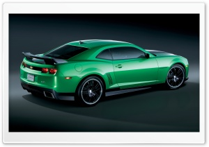 Chevrolet Camaro Synergy Special Edition   Rear Angle View HD Wide Wallpaper for Widescreen