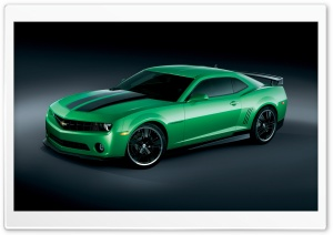 Chevrolet Camaro Synergy Special Edition   Side View HD Wide Wallpaper for Widescreen