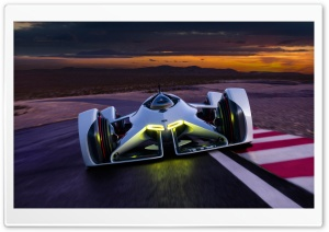 Chevrolet Chaparral 2X Vision Gran Turismo HD Wide Wallpaper for Widescreen