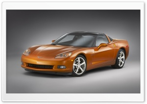 Chevrolet Corvette Z51 HD Wide Wallpaper for Widescreen
