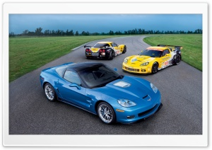 Chevrolet Corvette ZR1 HD Wide Wallpaper for Widescreen