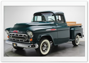 Chevrolet Pickup 3100 Stepside 1957 HD Wide Wallpaper for 4K UHD Widescreen desktop & smartphone
