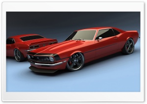 Chevy Camaro Classic Cars HD Wide Wallpaper for Widescreen
