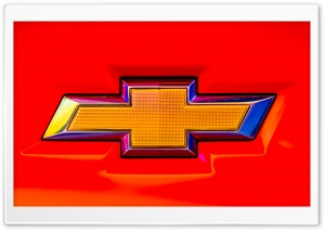 Chevy Emblem HD Wide Wallpaper for Widescreen