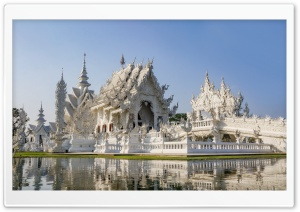 Chiang Mai Temple, Thailand HD Wide Wallpaper for Widescreen