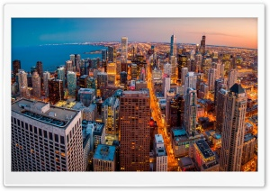 Chicago HD Wide Wallpaper for 4K UHD Widescreen desktop & smartphone