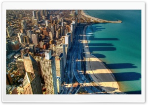 Chicago Beach HD Wide Wallpaper for Widescreen