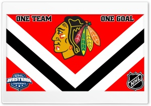Chicago Blackhawks HD Wide Wallpaper for Widescreen