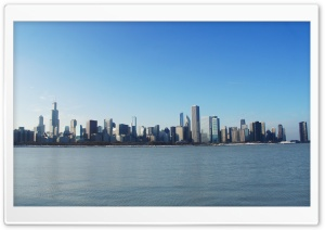 Chicago Daylight HD Wide Wallpaper for Widescreen