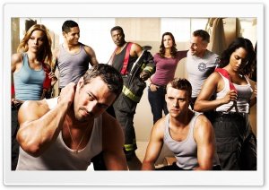 Chicago Fire TV series Cast HD Wide Wallpaper for 4K UHD Widescreen desktop & smartphone