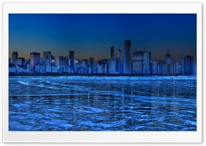 Chicago Skyline HD Wide Wallpaper for Widescreen
