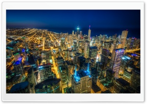 Chicago Skyscrapers HD Wide Wallpaper for 4K UHD Widescreen desktop & smartphone