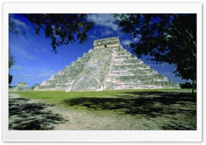Chichen Itza HD Wide Wallpaper for Widescreen