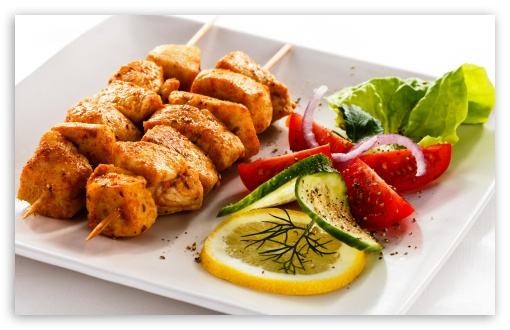 Chicken Skewers HD wallpaper for Wide 16:10 5:3 Widescreen WHXGA WQXGA WUXGA WXGA WGA ; HD 16:9 High Definition WQHD QWXGA 1080p 900p 720p QHD nHD ; Standard 4:3 5:4 3:2 Fullscreen UXGA XGA SVGA QSXGA SXGA DVGA HVGA HQVGA devices ( Apple PowerBook G4 iPhone 4 3G 3GS iPod Touch ) ; iPad 1/2/Mini ; Mobile 4:3 5:3 3:2 16:9 5:4 - UXGA XGA SVGA WGA DVGA HVGA HQVGA devices ( Apple PowerBook G4 iPhone 4 3G 3GS iPod Touch ) WQHD QWXGA 1080p 900p 720p QHD nHD QSXGA SXGA ;