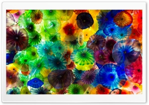 Chihuly Glass Art HD Wide Wallpaper for Widescreen