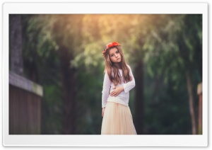 Child Girl Photography HD Wide Wallpaper for Widescreen