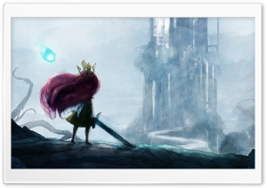 Child of Light HD Wide Wallpaper for Widescreen
