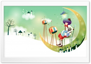 Childhood Fairytales HD Wide Wallpaper for Widescreen