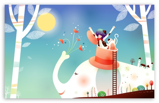 Childhood Fairytales Elephant Ride UltraHD Wallpaper for Wide 16:10 5:3 Widescreen WHXGA WQXGA WUXGA WXGA WGA ; 8K UHD TV 16:9 Ultra High Definition 2160p 1440p 1080p 900p 720p ; Standard 4:3 5:4 3:2 Fullscreen UXGA XGA SVGA QSXGA SXGA DVGA HVGA HQVGA ( Apple PowerBook G4 iPhone 4 3G 3GS iPod Touch ) ; iPad 1/2/Mini ; Mobile 4:3 5:3 3:2 16:9 5:4 - UXGA XGA SVGA WGA DVGA HVGA HQVGA ( Apple PowerBook G4 iPhone 4 3G 3GS iPod Touch ) 2160p 1440p 1080p 900p 720p QSXGA SXGA ;