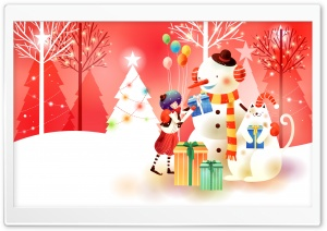 Childhood Fairytales Holidays HD Wide Wallpaper for Widescreen