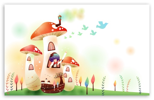 Childhood Fairytales Mushroom House HD wallpaper for Wide 16:10 5:3 Widescreen WHXGA WQXGA WUXGA WXGA WGA ; HD 16:9 High Definition WQHD QWXGA 1080p 900p 720p QHD nHD ; Standard 4:3 5:4 3:2 Fullscreen UXGA XGA SVGA QSXGA SXGA DVGA HVGA HQVGA devices ( Apple PowerBook G4 iPhone 4 3G 3GS iPod Touch ) ; Tablet 1:1 ; iPad 1/2/Mini ; Mobile 4:3 5:3 3:2 16:9 5:4 - UXGA XGA SVGA WGA DVGA HVGA HQVGA devices ( Apple PowerBook G4 iPhone 4 3G 3GS iPod Touch ) WQHD QWXGA 1080p 900p 720p QHD nHD QSXGA SXGA ;