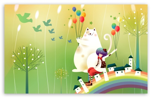 Childhood Fairytales Over The Rainbow HD wallpaper for Wide 16:10 5:3 Widescreen WHXGA WQXGA WUXGA WXGA WGA ; HD 16:9 High Definition WQHD QWXGA 1080p 900p 720p QHD nHD ; Standard 4:3 5:4 3:2 Fullscreen UXGA XGA SVGA QSXGA SXGA DVGA HVGA HQVGA devices ( Apple PowerBook G4 iPhone 4 3G 3GS iPod Touch ) ; Tablet 1:1 ; iPad 1/2/Mini ; Mobile 4:3 5:3 3:2 16:9 5:4 - UXGA XGA SVGA WGA DVGA HVGA HQVGA devices ( Apple PowerBook G4 iPhone 4 3G 3GS iPod Touch ) WQHD QWXGA 1080p 900p 720p QHD nHD QSXGA SXGA ;