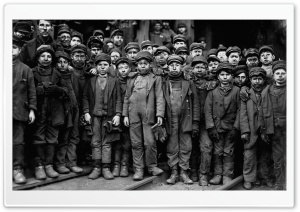 Children Workers HD Wide Wallpaper for Widescreen