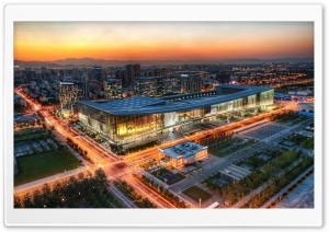 China National Convention Center CNCC HD Wide Wallpaper for Widescreen