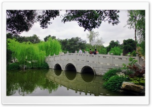 Chinese Bridge HD Wide Wallpaper for Widescreen