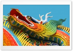 Chinese Dragon HD Wide Wallpaper for Widescreen