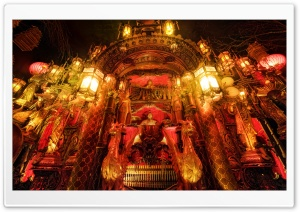 Chinese Lanterns And Mechanized Music, House On The Rock HD Wide Wallpaper for Widescreen