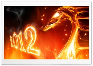 Chinese New Year 2012 Year of the Dragon HD Wide Wallpaper for Widescreen