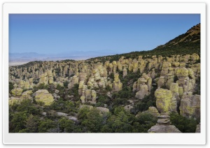 Chiricahua National Monument Heart Of Rocks HD Wide Wallpaper for Widescreen