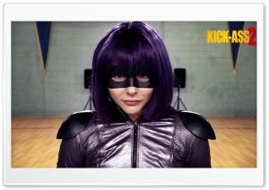 Chloe Moretz in Kick-Ass 2 HD Wide Wallpaper for Widescreen