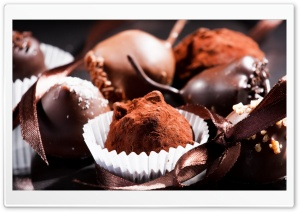 Chocolate Bonbons HD Wide Wallpaper for Widescreen