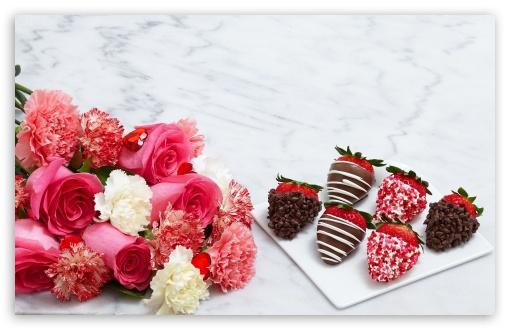 Chocolate Dipped Strawberries and Flowers ❤ 4K UHD Wallpaper for Wide 16:10 5:3 Widescreen WHXGA WQXGA WUXGA WXGA WGA ; 4K UHD 16:9 Ultra High Definition 2160p 1440p 1080p 900p 720p ; Standard 4:3 5:4 3:2 Fullscreen UXGA XGA SVGA QSXGA SXGA DVGA HVGA HQVGA ( Apple PowerBook G4 iPhone 4 3G 3GS iPod Touch ) ; Smartphone 3:2 5:3 DVGA HVGA HQVGA ( Apple PowerBook G4 iPhone 4 3G 3GS iPod Touch ) WGA ; Tablet 1:1 ; iPad 1/2/Mini ; Mobile 4:3 5:3 3:2 16:9 5:4 - UXGA XGA SVGA WGA DVGA HVGA HQVGA ( Apple PowerBook G4 iPhone 4 3G 3GS iPod Touch ) 2160p 1440p 1080p 900p 720p QSXGA SXGA ;