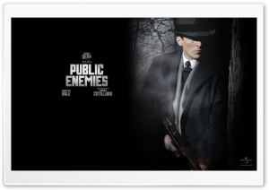 Christian Bale Public Enemies HD Wide Wallpaper for Widescreen