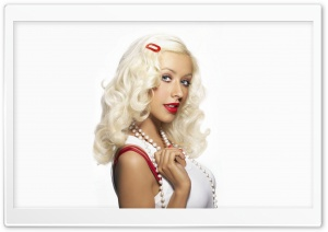 Christina Aguilera 2 HD Wide Wallpaper for Widescreen