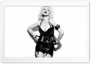 Christina Aguilera 2010 HD Wide Wallpaper for Widescreen