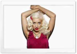 Christina Aguilera HD Wide Wallpaper for Widescreen