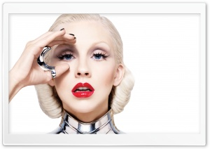 Christina Aguilera - Bionic HD Wide Wallpaper for Widescreen