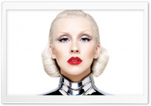 Christina Aguilera Bionic HD Wide Wallpaper for Widescreen