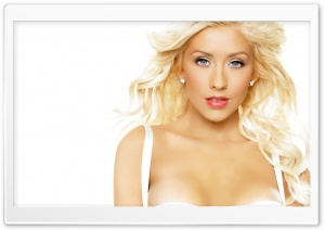 Christina Aguilera Hot HD Wide Wallpaper for Widescreen