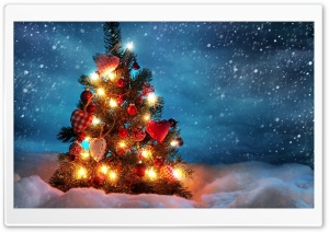 CHRISTMAS - TREE HD Wide Wallpaper for Widescreen