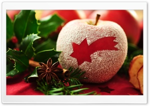 Christmas Apple HD Wide Wallpaper for 4K UHD Widescreen desktop & smartphone