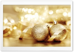 Christmas Balls HD Wide Wallpaper for Widescreen