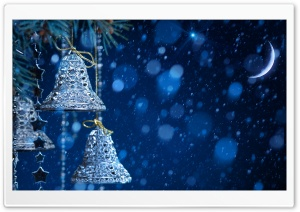 Christmas Bells HD Wide Wallpaper for Widescreen