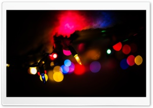 Christmas Bokeh Ultra HD Wallpaper for 4K UHD Widescreen desktop, tablet & smartphone