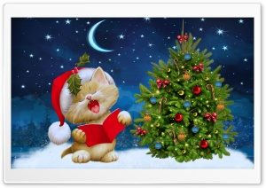 Christmas Carols HD Wide Wallpaper for Widescreen