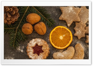 Christmas Cookies HD Wide Wallpaper for Widescreen